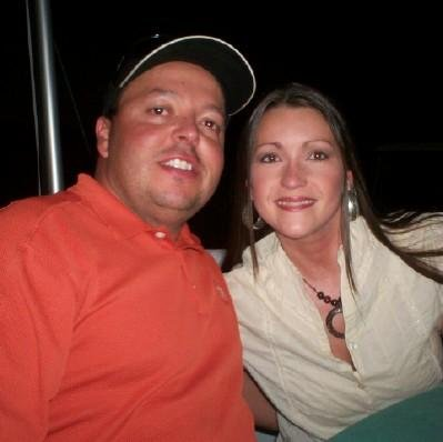 Me and the hubs at a GSW event many moons ago.