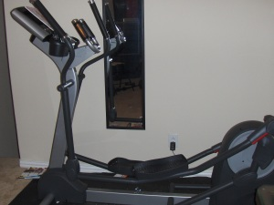 My beloved Life Fitness Elliptical!