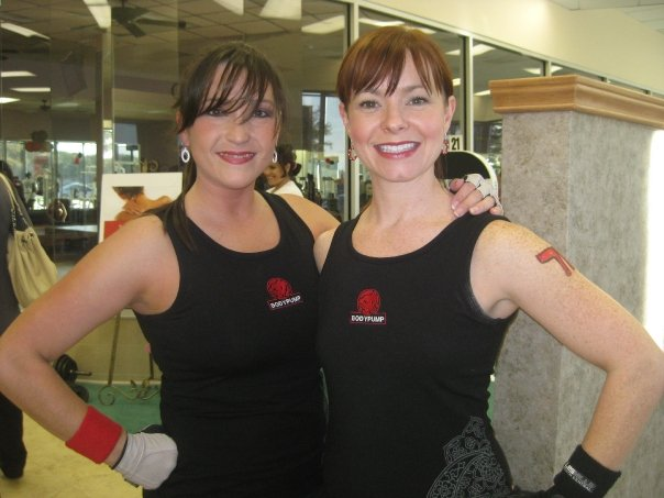 Me and Colleen, Body Pump Launch 71.